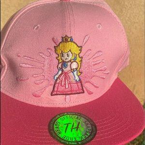 Princess Peach hat , NWT